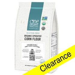 Sprouted Corn Flour, ORG & GF - 24oz (Clearance)