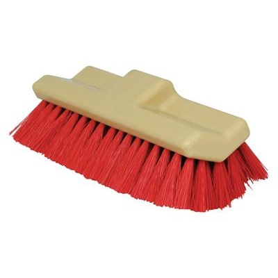 "Winco BRF-10R Floor Brush 10"" W"
