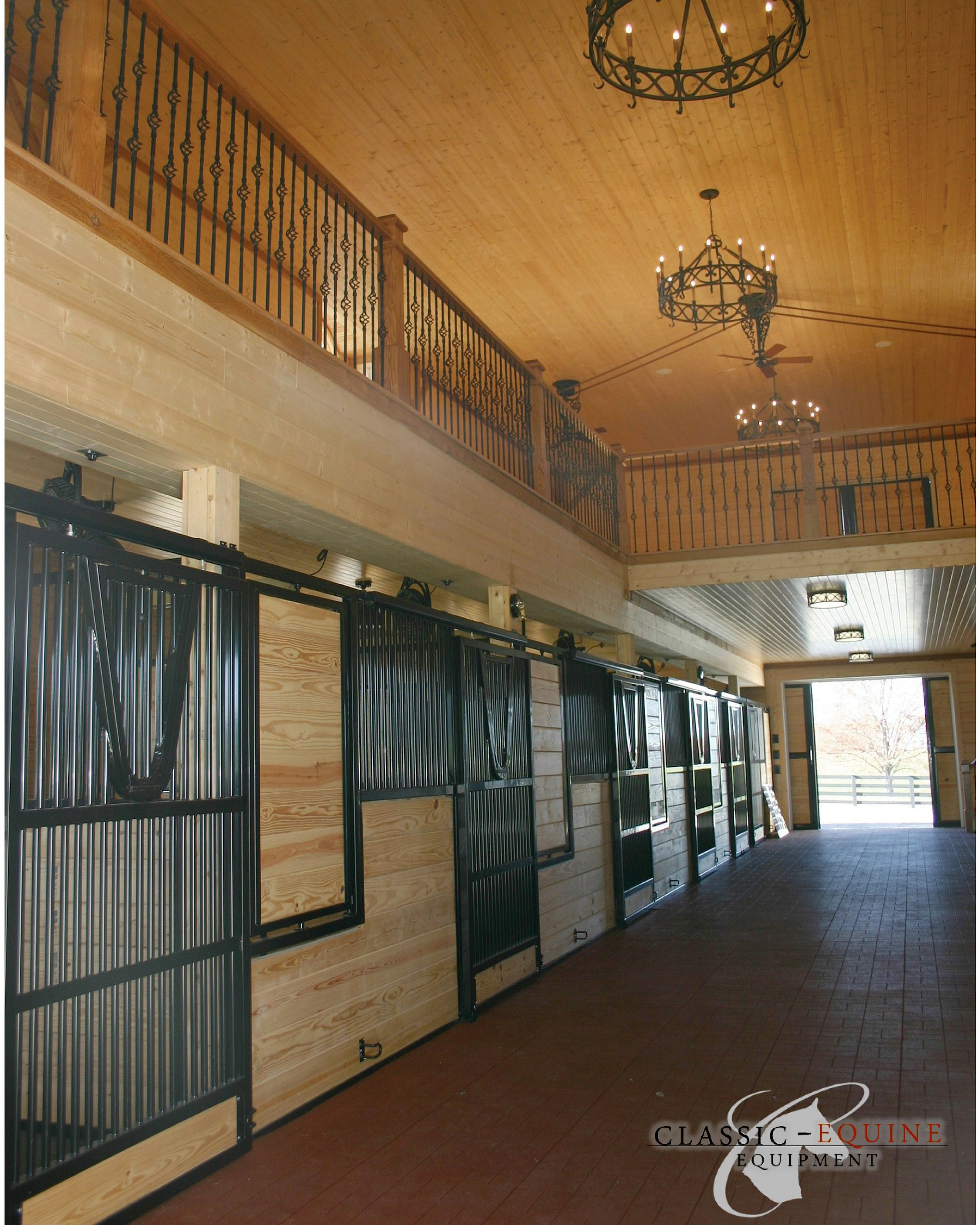 Sliding Horse stall doors | Best Quality Horse Stalls made in the USA