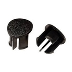 87-93 Arm Rest Plugs (Black, RH)
