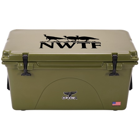 NRA Green 75qt ORCA Cooler