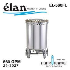 élan™ EL-560FL: Stainless Steel Filter Housing, up to 560 GPM