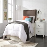 39119Q BROWN QUEEN HEADBOARD