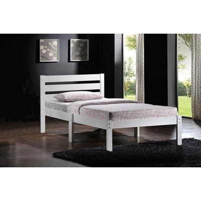 21528T-W WHITE FINISH TWIN BED