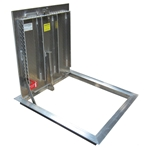 Existing Opening Diamond Tread Floor Door, 300psf