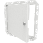Architectural Access Door with Drywall Bead Flange, Keyed Lock