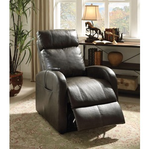 59405 DARK GRAY POWER LIFT RECLINER