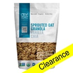 Sprouted Oat Granola (Vanilla Chia), ORG - 11oz (Clearance)