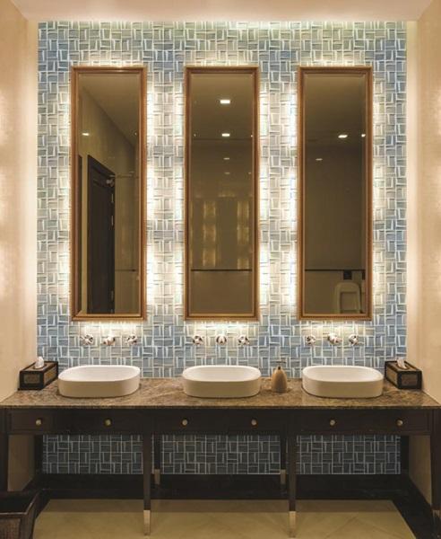 Tierra Sol Ceramic Tile Illusion II - 3x3 ceramic wall tile