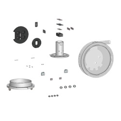 E500 Upgrade Kit, With Modified Polished Source