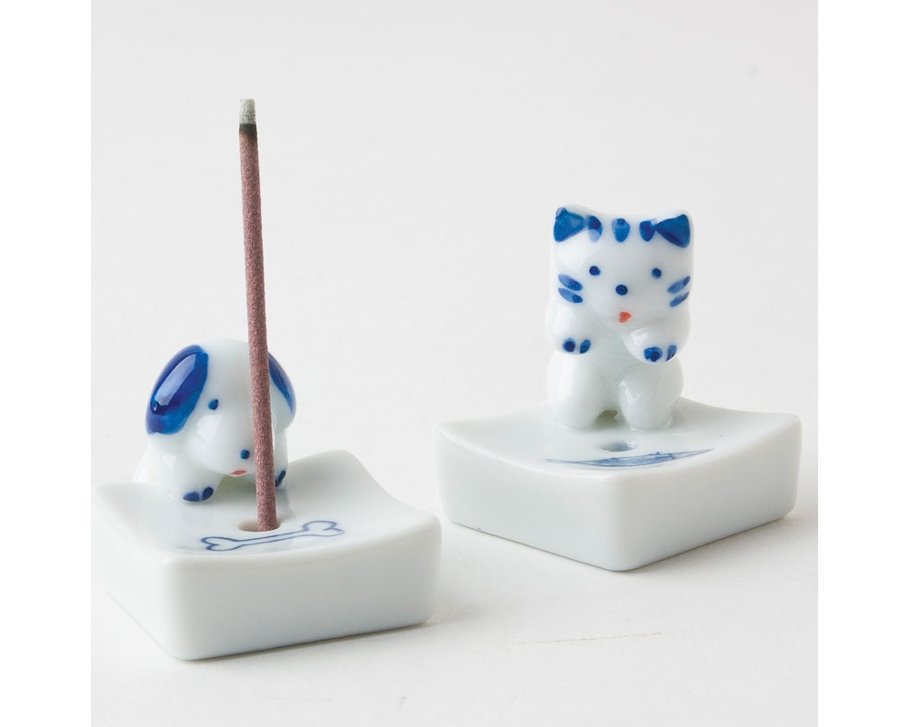 Dog & Bone Incense Holder