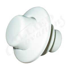 AIR BUTTON TRIM: #15 CLASSIC TOUCH, RAISED, WHITE