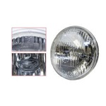 "5 3/4"" High/Low Beam Round Halogen Sealed Beam Headlamp"