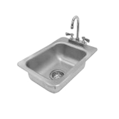 Advance Tabco DI-1-5 Drop-In Sink 1-Compartment