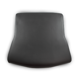 70.596 Koenig Leather Full Seat Cushion - Top View