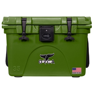 Green Liddup 35 Quart