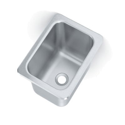 Vollrath 101-1-2 Drop-In Sink One Compartment
