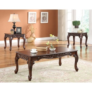 80234 3PC PK COFFEE/END TABLE SET