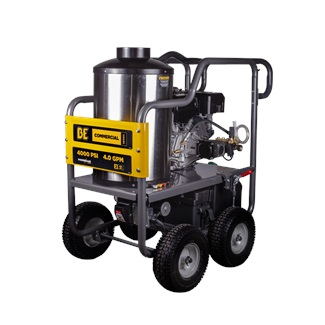 389cc 4000PSI HOT WATER WASHER (POWEREASE)