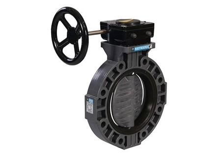 "6"" PVC Butterfly Valve with Viton Seals"