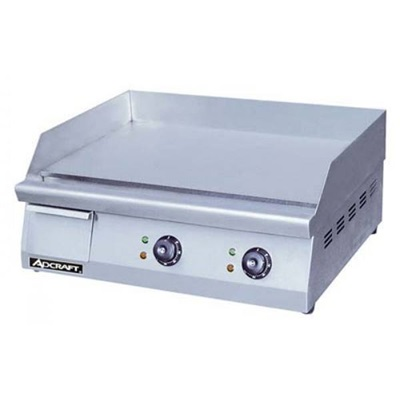 "Adcraft 24"" Countertop Electric Griddle"