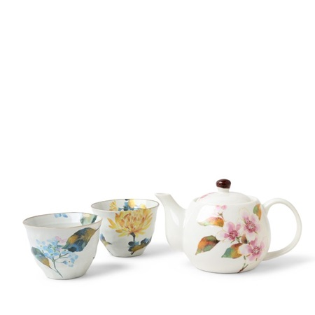 Summer Floral Tea Set