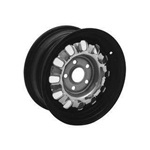 "Styled Steel Wheel (14""x6"" Black Rim)"