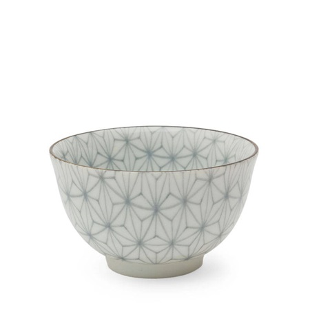 Asanoha Colors 5 Oz. Teacup - Gray