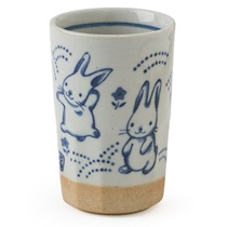 Blue Rabbits Cup 9 Oz.