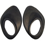 Side mount spare wheel grommet