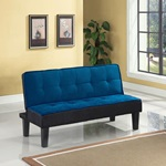 57031 BLUE ADJUSTABLE SOFA