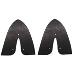 Taillight assembly mounting pads