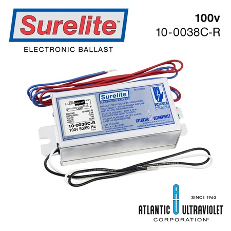 Ballast: Surelite Instant Start / 100v + 50/60 Hz / LED on Board