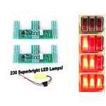 1967-68 Mustang LED Sequential Tail Light Kit (Easy Install)