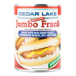 Cedar Lake, Jumbo Franks - 20oz