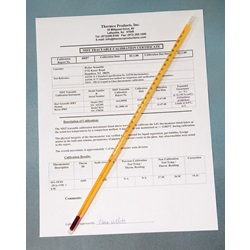 Serialized and Certified Thermometers (Thermco)