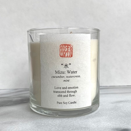 Five Elements Scented Candle - Water