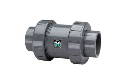 "1"" PVC Ball Check Valve with Viton Seals"