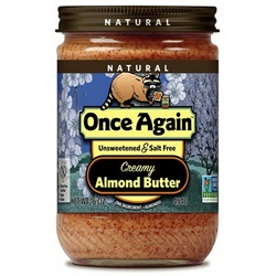 Almond Butter - Smooth (16oz Jar)