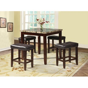 71090 5PC PK COUNTER SET -FANCY FAUX