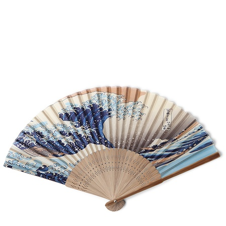 Folding Fan The Great Wave