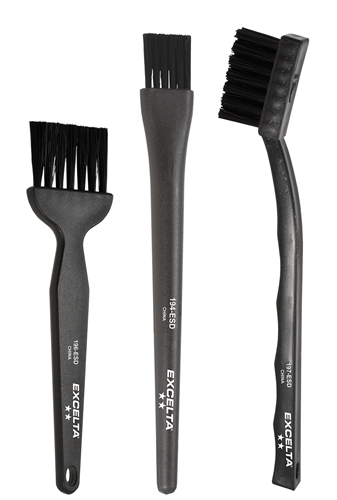 ESD Safe Brushes - Plastic Handles
