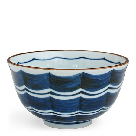 BLUE GARLAND BOWL