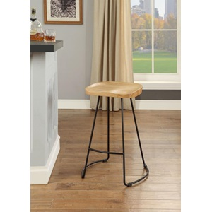 96795 NATURAL COUNTER HEIGHT STOOL
