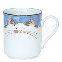 BLUE CAT 8 OZ. MUG