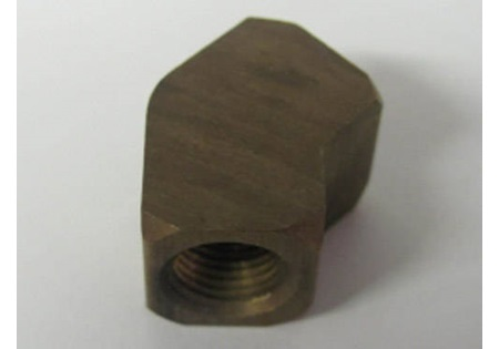 "Brass 1/8"" 45 Degree Elbow FPT"