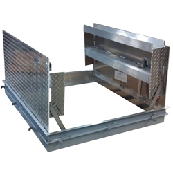 H20 Angle Frame Floor Door