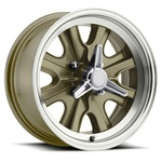 15 x 7 Legendary HB44 Alloy Wheel, 4 on 4.5 BP, 4.25 BS, 4 Lug, Gold Haze