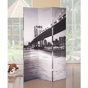 98017 BRIDGE SCENERY WOODEN SCREEN