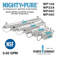 MIGHTY PURE® UV Water Purifiers 3–20 GPM